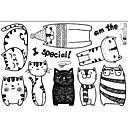 billige Veggklistremerker-Dekorative Mur Klistermærker - Fly vægklistermærker / Animal Wall Stickers Dyr Stue / Innendørs