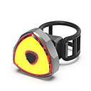 tanie Światła rowerowe-Wodoodporny / Tylna lampka rowerowa / Tylne światła LED Światła rowerowe LED Kolarstwo Wodoodporny, Przenośny, Profesjonalny Litowo-polimerowe 50 lm Akumulator Czerwony Kemping / turystyka