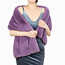 cheap Wedding Wraps-Sleeveless Faux Fur Wedding / Party / Evening Women's Wrap With Solid Shawls