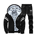 cheap Girls' Shoes-men's long sleeve hoodie - letter hooded