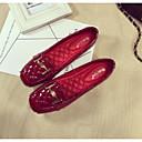 povoljno Ženske ravne cipele-Žene Udobne cipele PU Proljeće Ravne cipele Ravna potpetica Crn / Crvena / Badem