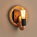 cheap Wall Sconces-Mini Style Simple / Vintage Wall Lamps & Sconces Living Room / Hallway Metal Wall Light 110-120V / 220-240V 60 W / E26 / E27