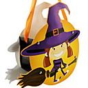 hesapli Cadılar Bayramı Parti Malzemeleri-Tatil Süslemeleri Cadılar Bayramı Süslemeleri Halloween Eğlenceli Dekorotif / Havalı Sarı 1pc