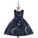 tanie Sukienki dla dziewczynek-Dzieci Dla dziewczynek Wszechświat Bez rękawów Sukienka