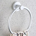 cheap Lighting Accessories-Towel Bar Creative / Multifunction Modern Aluminum 1pc towel ring Wall Mounted