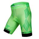 preiswerte Radtrikots-WOSAWE Herrn Gepolsterte Fahrradshorts Fahhrad Gepolsterte Shorts / Unten Klassisch Polyester, Elasthan Grün Fahrradbekleidung