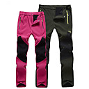 cheap Hiking Trousers & Shorts-Women's Solid Color Hiking Pants Outdoor Windproof Fleece Lining Breathable Warm Winter Pants / Trousers Bottoms Skiing Hiking Outdoor Exercise Black Fuchsia Grey XL XXL XXXL / Micro-elastic