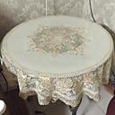 tanie Podkładki stołowe-Nowoczesny Polichlorek winylu Zaokrąglony Obrus Geometric Shape Dekoracje stołowe 1 pcs