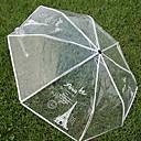 baratos Sombrinhas-Aço Inoxidável Todos Ensolarado e chuvoso / Novo Design Guarda-Chuva Dobrável