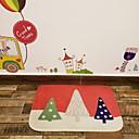 abordables Tapis-polyster de Noël, tapis carré de qualité supérieure
