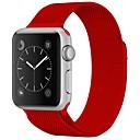 baratos Smartwatch Acessórios-Aço Inoxidável Pulseiras de Relógio Alça para Apple Watch Series 3 / 2 / 1 Vermelho / Marrom / Verde 23cm / 9 polegadas 2.1cm / 0.83 Polegadas