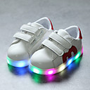 cheap Girls' Shoes-Boys' / Girls' Shoes PU(Polyurethane) Spring &  Fall Comfort / Light Up Shoes Sneakers Hook & Loop / LED for Kids / Toddler Black / Red / Blue