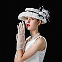 povoljno Kentucky Derby Hat-Til / Lan / Baršunasto kape s Perje / Cvijet 1 komad Vjenčanje / Zabava / večer Glava