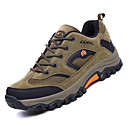 cheap Men's Athletic Shoes-Men's Comfort Shoes Mesh / PU(Polyurethane) Fall Sporty Athletic Shoes Hiking Shoes Non-slipping Color Block Gray / Brown / Army Green