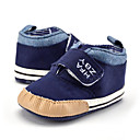 cheap Baby Shoes-Boys' Shoes Canvas Spring &  Fall Bootie Boots Magic Tape for Baby Khaki / Royal Blue / Booties / Ankle Boots