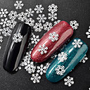 cheap Pillow Covers-1 pcs Nail Jewelry Mini Style / Best Quality Flower Snowflake nail art Manicure Pedicure Christmas / Festival Artistic / Sweet