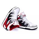 abordables Zapatillas de Hombre-Hombre Zapatos Confort Cuero / Ante Primavera & Otoño Casual Zapatillas de deporte Rojo / Azul