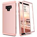 abordables Blocs Magnétiques-BENTOBEN Coque Pour Samsung Galaxy Note 9 Antichoc Coque Intégrale Couleur Pleine Dur TPU / PC pour Note 9