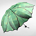 tanie Parasol przeciwdeszczowy / przeciwsłoneczny-Stal nierdzewna Wszystko Słoneczne i deszczowe / Nowy design Parasolka Składana
