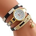 preiswerte Armband-Uhren-Damen Armband-Uhr Quartz Schwarz / Rot / Rosa Armbanduhren für den Alltag Analog Freizeit Modisch - Rot Rosa Hellblau Ein Jahr Batterielebensdauer