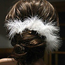 cheap Hair Accessories-Pins Hair Accessories Feathers Wigs Accessories Women's 6pcs pcs 1-4inch cm Wedding Party Vintage Style Handmade