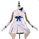 hesapli Video Oyun Kostümleri-Esinlenen Guns Girl - Okul GünüZ Raiden Mei Anime Cosplay Kostümleri Cosplay Takımları / Elbiseler Moda Kolsuz Eldivenler / Kemer / Neckwear Uyumluluk Kadın's Cadılar Bayramı Kostümleri