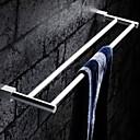 abordables Toalleros de Barra-Barra para Toalla Nuevo diseño / Cool Modern Acero Inoxidable / Hierro 1pc Bar de 2 torres Colocado en la Pared