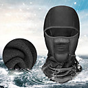 cheap Balaclavas & Face Masks-Balaclava Pollution Protection Mask Waterproof Thermal / Warm Windproof Breathable Warm Bike / Cycling Black Spandex Fleece Winter for Men's Women's Adults' Road Bike Motorcycle Bike / Cycling