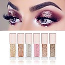 cheap Eyeshadows-6 Colors Eyeshadow Liquid Glow Daily Makeup / Halloween Makeup / Party Makeup 1160 Cosmetic / Shimmer