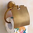 hesapli Tuvalet Kağıdı Tutucuları-Tuvalet Kağıdı Tutacağı Yeni Dizayn / Havalı Antik Pirinç 1pc Duvara Monte Edilmiş