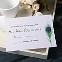 povoljno Party pokrivala za glavu-Stan kartica Vjenčanje Pozivnice 20 - Response card Moderna Pearl papira