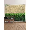 tanie Tapestry Ścienne-Krajobraz / Bambus Dekoracja ścienna 100% poliester Klasyczny Wall Art, Ścienne Gobeliny Dekoracja