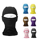 cheap Balaclavas & Face Masks-Balaclava Pollution Protection Mask Thermal / Warm Windproof Breathable Sweat-wicking Bike / Cycling Army Green Pink Grey Polyester Spandex Winter for Men's Women's Adults' Ski / Snowboard Camping