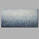 ieftine Proiectoare-Hang-pictate pictură în ulei Pictat manual - Abstract Peisaj Contemporan Modern Includeți cadru interior / Stretched Canvas