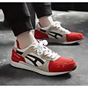 cheap Men's Athletic Shoes-Men's Comfort Shoes Mesh Spring &  Fall Athletic Shoes Running Shoes Black / Gray / Red