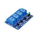 billige Moduler-fireveis relé -5v blå