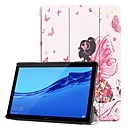 cheap Cellphone Case-Case For Huawei Huawei Mediapad T5 10 / MediaPad T3 10(AGS-W09, AGS-L09, AGS-L03) with Stand / Flip / Pattern Full Body Cases Sexy Lady Hard PU Leather for Huawei Mediapad T5 10 / Huawei MediaPad T3