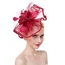 povoljno Party pokrivala za glavu-Til / Perje Kentucky Derby Hat / Fascinators / Šešir s Perje 1 komad Zabava / večer / Poslovni / Svečano / Vjenčanje Glava
