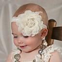 olcso Lány fehérnemű és zokni-Kisgyermek Lány Egyszínű Hajdísz Fehér / Arcpír rózsaszín / Világoszöld Egy méret / Fejpántok