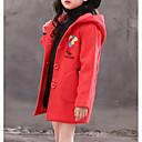 povoljno Jakne i kaputi za djevojčice-Djeca Djevojčice Osnovni Jednobojni Dugih rukava Jakna i kaput Red