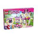 رخيصةأون المكعبات-كتل المتشابكة التركيز لعبة مضحك 734 pcs قطع للأطفال بالغين الجميع ألعاب هدية