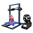 tanie Drukarki 3D-ezt® m18 drukarka 3d diy kit 300 * 300 * 400mm rozmiar druku wsparcie druk off-line z wyświetlaczem LCD 1.75mm 0.4mm dyszy