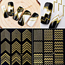 cheap Rhinestone & Decorations-1 pcs Decals 3D Interface Creative nail art Manicure Pedicure Daily / Festival Stylish / Korean