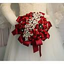 """זול פרחי חתונה-פרחי חתונה זרים חתונה / מסיבת החתונה אבני חן וקריסטל / משי 11-20  ס""""מ"""