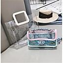 ieftine Seturi Genți-Pentru femei Genți PU Seturi de sac Set de pungi pentru 2 buc Fermoar Albastru piscină / Roz Îmbujorat