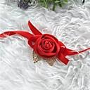 billige Bryllupsblomster-Bryllupsblomster Håndledscorsage Bryllup / Bryllupsfest Silke / Stoff 0-10 cm