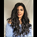 cheap Human Hair Wigs-Remy Human Hair Full Lace Lace Front Wig Brazilian Hair Body Wave Wig Asymmetrical 130% 150% 180% Density Fashionable Design Soft Women Sexy Lady Hot Sale Natural Women's Very Long Human Hair Lace Wig