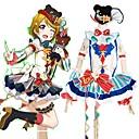 povoljno Anime kostimi-Inspirirana Ljubav uživo Cosplay Anime Cosplay nošnje Japanski Cosplay Suits Kolaž / Miks boja Haljina / Luk / More Accessories Za Muškarci / Žene