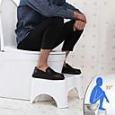 """olcso Other Lakás Szervezet-WC guggoló széklet fürdőszoba toalett széklet fürdőszoba guggoló széklet potty segítség lépcső széklet WC-testtartás és egészséges kibocsátás hordozható kompakt design 7 """"17cm"""