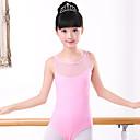 billige Dansetøj til børn-Ballet Trikoter Pige Træning / Ydeevne Elastin / Lycra Kombination Uden ærmer Trikot / Heldragtskostumer